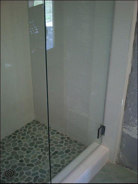 Saloon Style Frameless Shower Doors 38 Tempered Glass Attic
