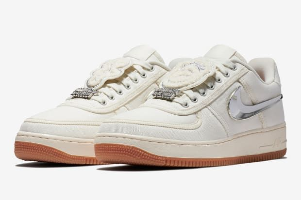 Travis Scott's Nike Air Force 1 Low Emerges in a Subdued