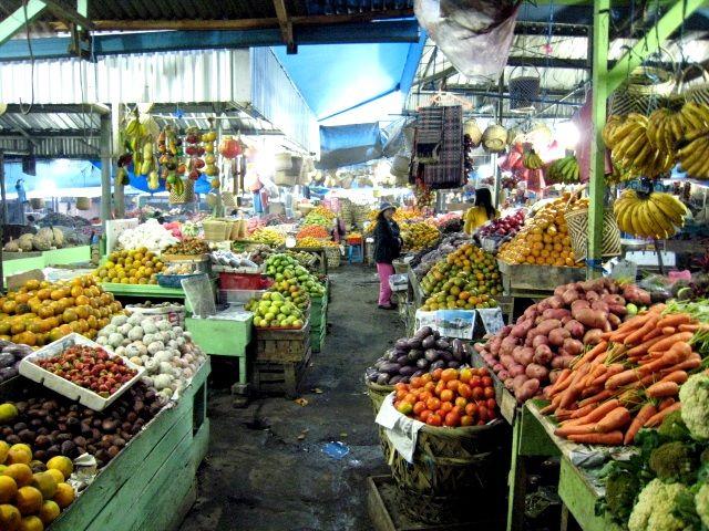 Fruit Market in Berastagi <3