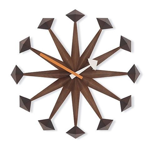 "The #Polygon clock is one of more than 150 #clock designs created by the #GeorgeNelson and Associates for the #HowardMillerClockCompany.  Most sources attribute this clock to George Nelson (as the owner of the studio), however the George Nelson Foundation correctly identifies the original designer as #IrvingHarper.  Many #modern #american clocks were created by Harper, who was tasked to create upwards of 8 clock designs per year. He enjoyed creating clocks that were #sculptural in form ""To…"