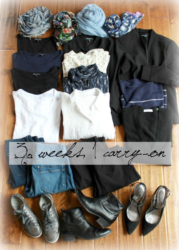 15 Piece Travel Wardrobe...keep calm and carry-on! | une femme d'un certain âge