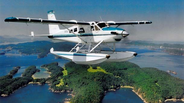 Your ride to the wilderness - Seaair Seaplanes. Clayoquot Wilderness Resort. www.wildretreat.com