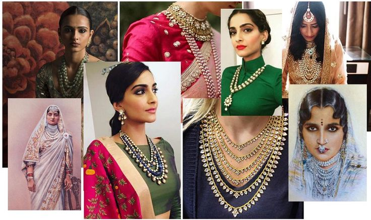 Two traditional Indian necklace trend not to be missed this festive season 1. multi-strand-necklace-cover. we know TWO doesn't sound a good enough representation of anything but believe us there are usually two or three trends that multiple into variations that we see around, runway to your drawer, get inspired now