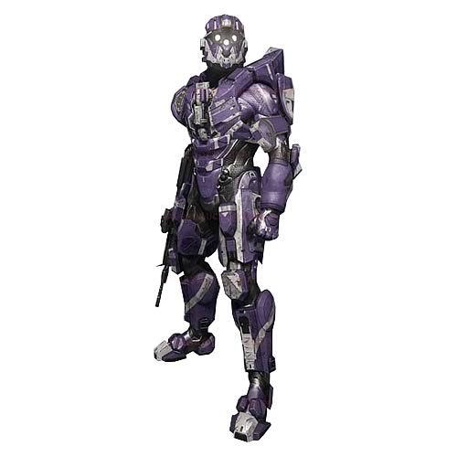 Halo 4 Series 2 Spartan CIO Team Purple Action Figure - McFarlane Toys - Halo - Action Figures at Entertainment Earth