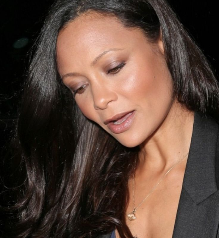 Loquet ❤️ Thandie Newton wearing her small round #loquetlondon. #celebrityspotting