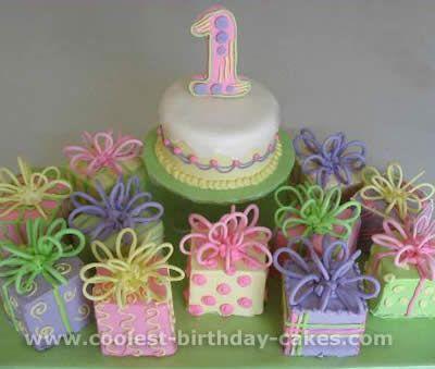 1st birthday girl cake - Google Search
