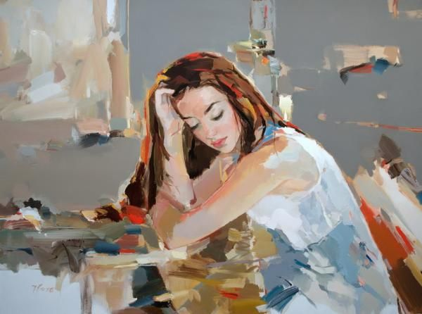 Figurative Paintings by Josef Kote | Showcase of Art