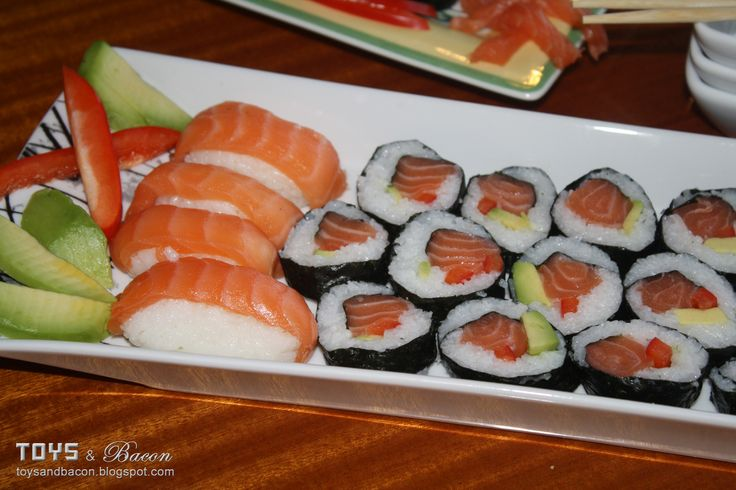 Common Types of Sushi Rolls | ... making sushi? Different types of fish, other types of rolls. Someday