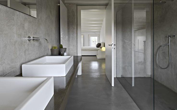 gepolierd beton badkamer - Google zoeken