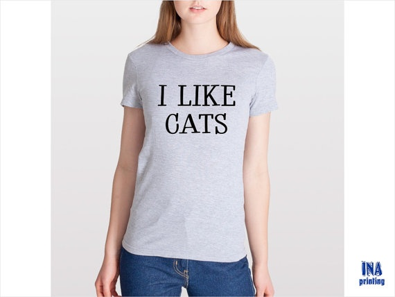 I like cats t shirt american apparel womens by inaprinting for American apparel t shirt design