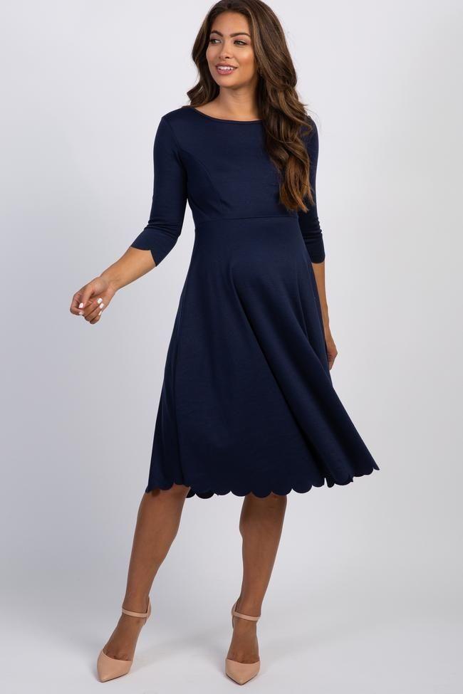 10++ Scalloped hemline dress ideas