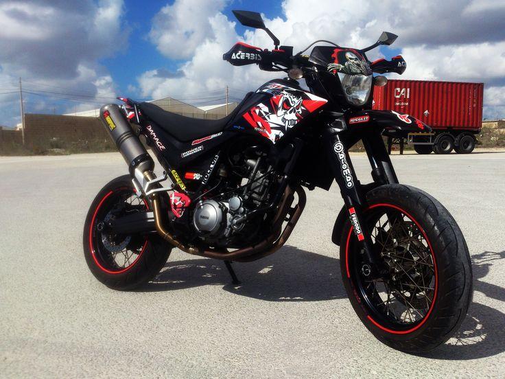 my customized yamaha xt660x supermotos moto bike enduro motocross motorcycle. Black Bedroom Furniture Sets. Home Design Ideas