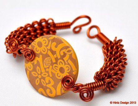 Handmade jewelry / jewellery / copper / wire / wood / semiprecious / stones / beads