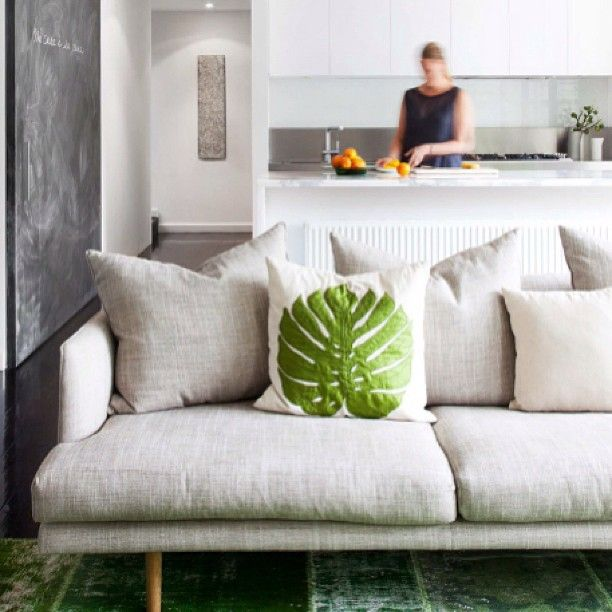 A comfortable spot, a nook, to make your own | Nook sofa pictured via @estmagazine #so... | Use Instagram online! Websta is the Best Instagram Web Viewer!