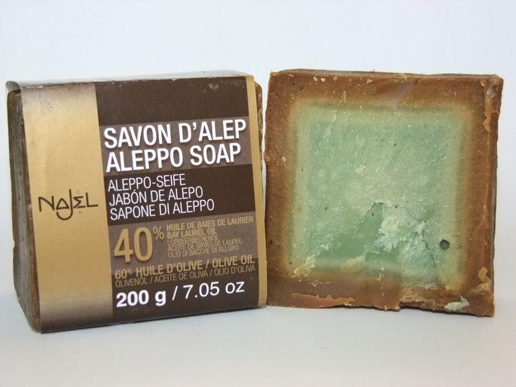 """Mydło Aleppo.  Naturalne mydło zwane  """"Matką wszystkich mydeł"""". Ma właściwości zarówno pielęgnacyjne jak i lecznicze. Regeneruje, nawilża, odżywia skórę i goi wszelkie podrażnienia i rany."""
