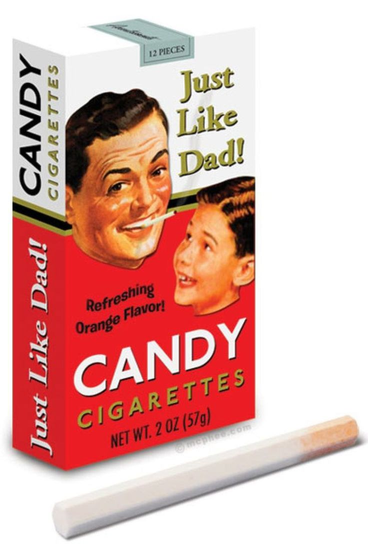 Candy Cigarettes - I used to love these things.  Pretended we were smoking. HA!