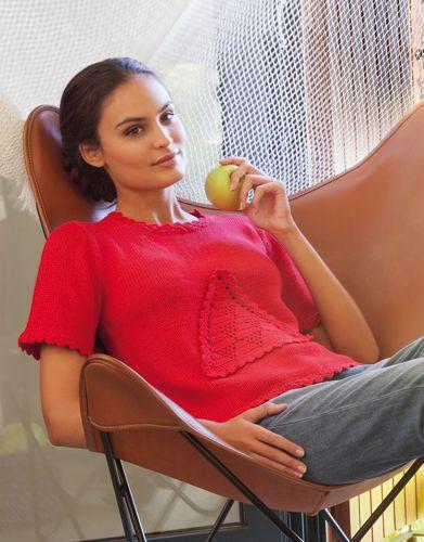 Revista mujer Casual 73 Primavera / Verano | 14: Mujer Jersey | Rojo