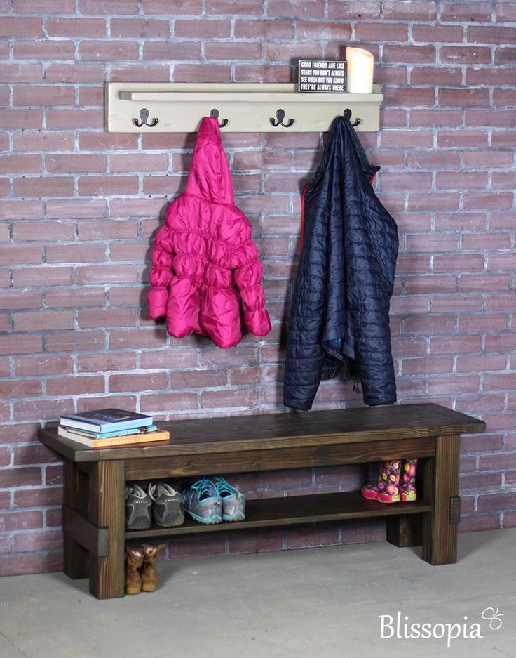 Entryway Storage Bench, Wood Storage Bench, Shoe Bench, Entryway Bench, Shoe Storage, Rustic, Farmhouse Style by Blissopia on Etsy https://www.etsy.com/listing/169806511/entryway-storage-bench-wood-storage