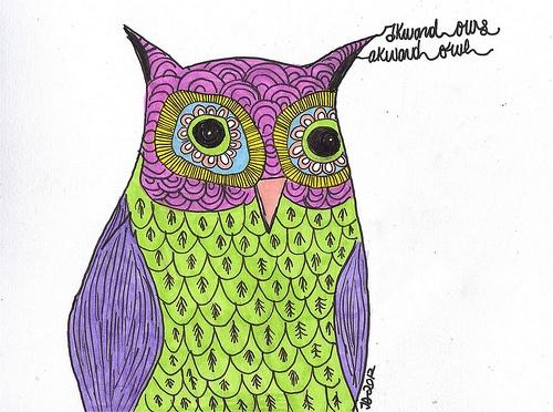 awkward owls