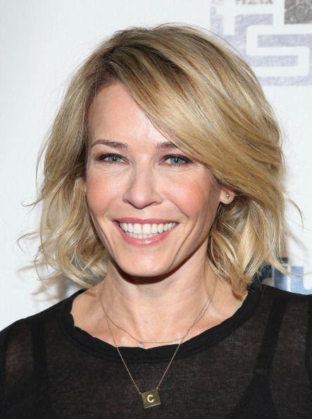 Chelsea Handler at the Sirius XM Howard Stern Birthday Bash. Hair by Sarah Potempa.