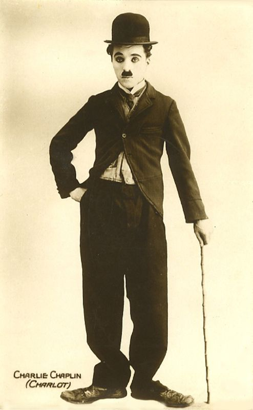 Vintage photo of Charlie Chaplin - old photos for Reminiscing for Alzheimer's and dementia