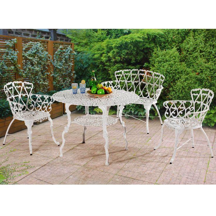 sunjoy arriva 4piece bistro table set patio furniture - Bistro Table Sets