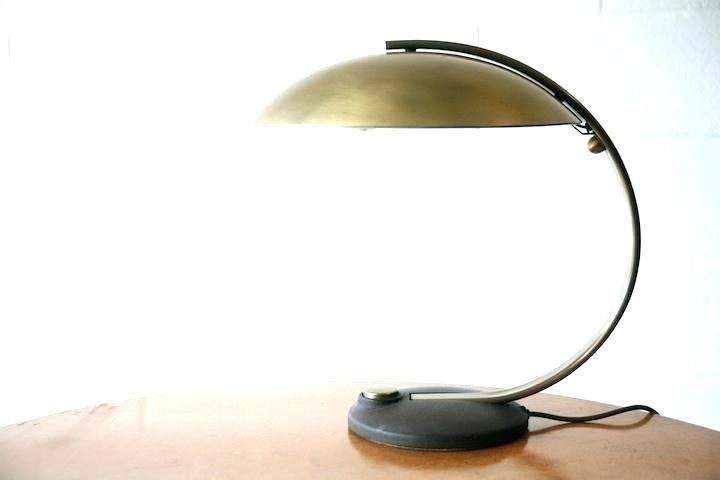 Lamp Desk Table, Robert Abbey Kinetic Antique Brass Pharmacy Desk Lamp