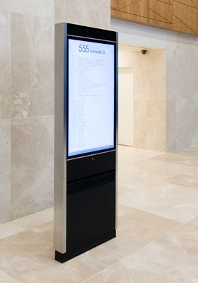 Floor Mounted Display Directory
