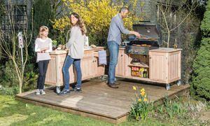 Blaupause Außenküche   – Garten ideen