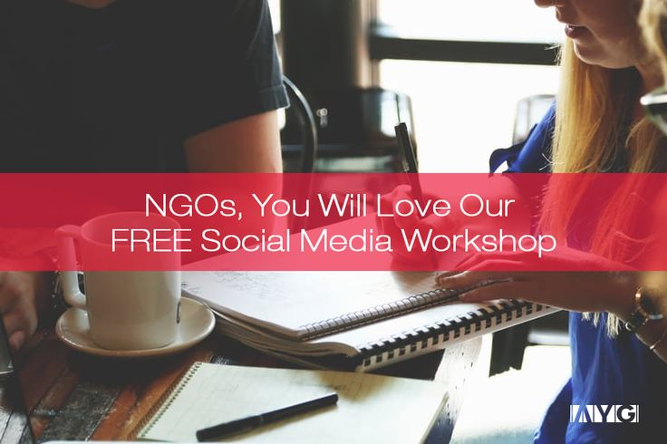 We're so enthusiastic about the newest AYG Social Media Workshop, that we barely contain ourselves in anticipation. If it's your first time on the AYG blog, besides the warm welcome, we're pleased to greet you with one of our identity pillars, respectively, our vision: