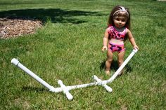 Arts and Crafts for your American Girl Doll: Hammock Stand for American Girl Doll