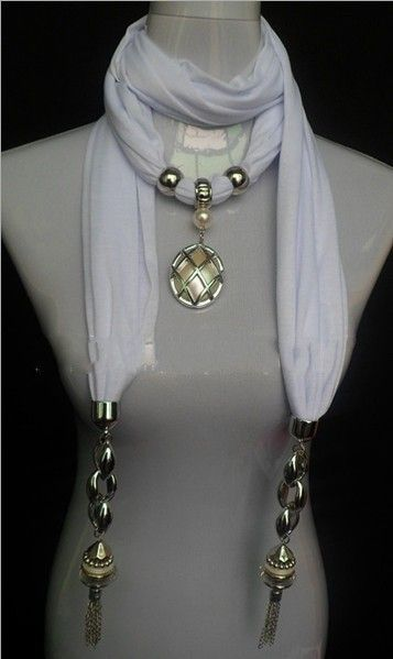 Spring Solid Color Cheap Pendant Scarves for Women on www.jewelryscarfcanada.com