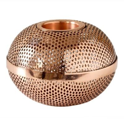 Copper Light Holger Ø:11,5 cm Ljuslykta | Louise Roe | Länna Möbler | Handla online