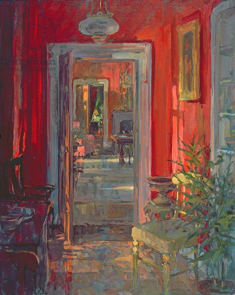 Susan Ryder.  Afternoon Sunlight (oil on canvas)