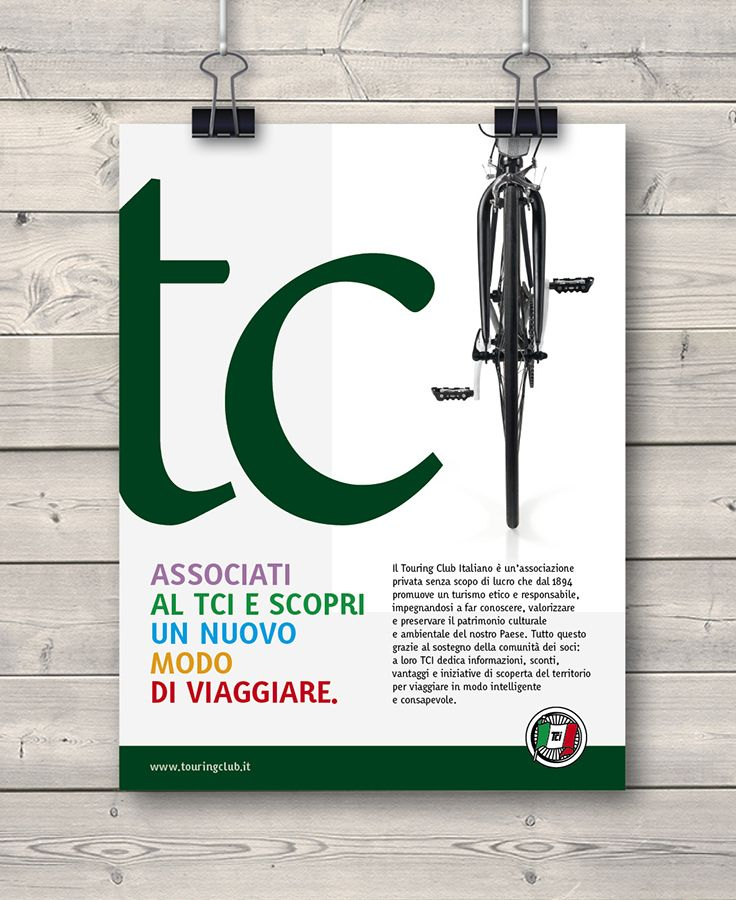 Creative Advertising / Poster / Touring Club Italiano