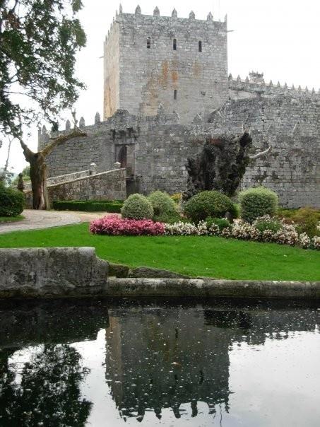 Sotomayor Castle or Castillo de Sotomaior in Galicia, Spain