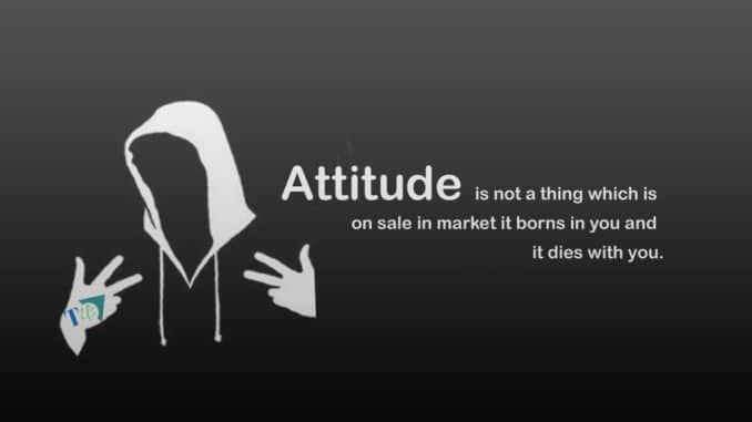 Attitude Status Let Others Know Your Attitude