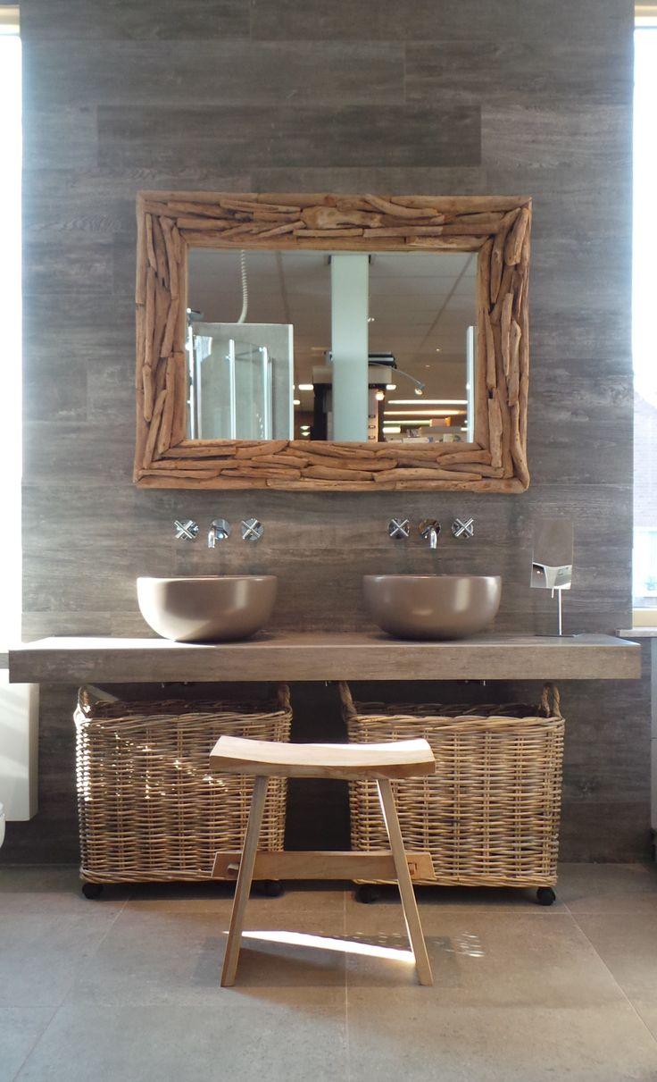 Meer dan 1000 ideeën over donkere badkamers op pinterest ...