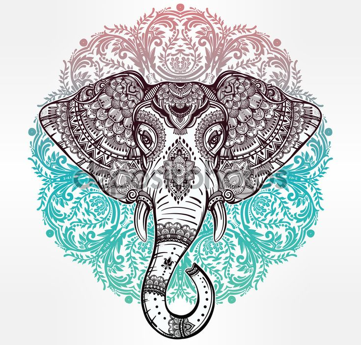 Ms De 1000 Ideas Sobre Tatuajes Elefantes Indios En Pinterest