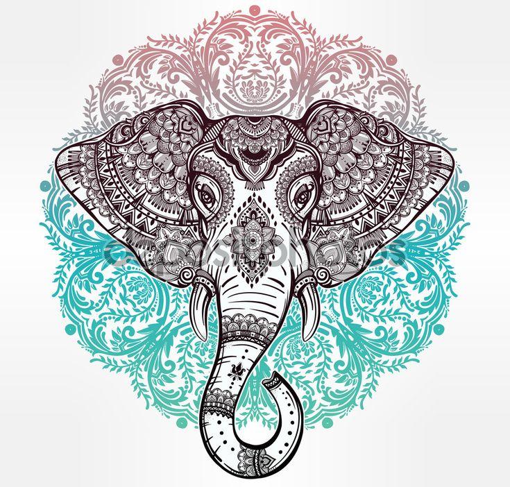 las 25 mejores ideas sobre elefante hindu en pinterest. Black Bedroom Furniture Sets. Home Design Ideas