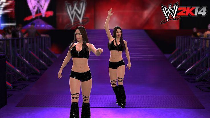 WWE 2k14 Bellas twins