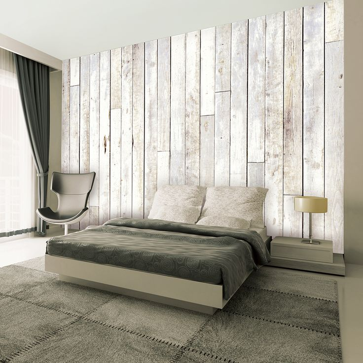 Timber boards - Wall mural