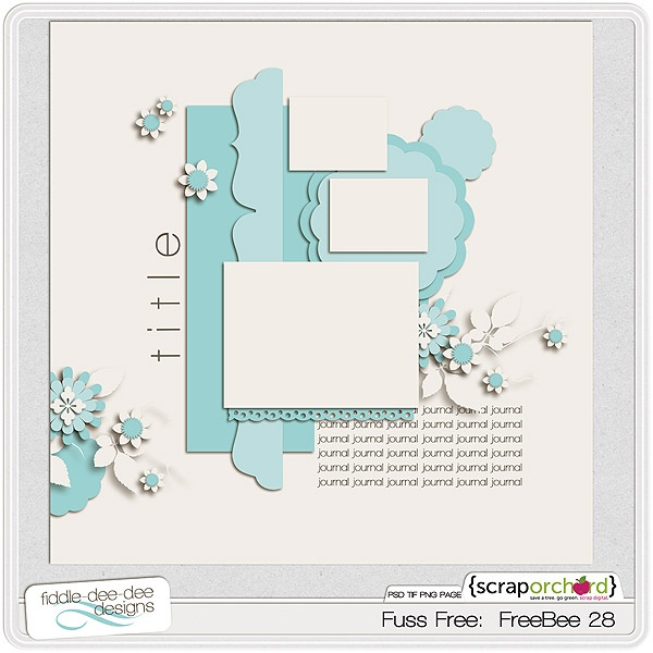 Quality DigiScrap Freebies: Template freebie from Fiddle-Dee-Dee Designs: Free Templates, Fiddle Dee De Design, Digital Scrapbook, Templates Freebies, Scrap Orchards, Scrapbook Layout, Fuss Free, Scrapbook Sketch, Scrapbook Products