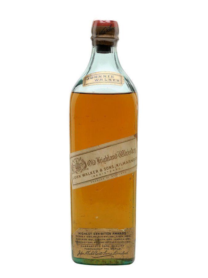 Johnnie Walker Old Highland Whisky White Label