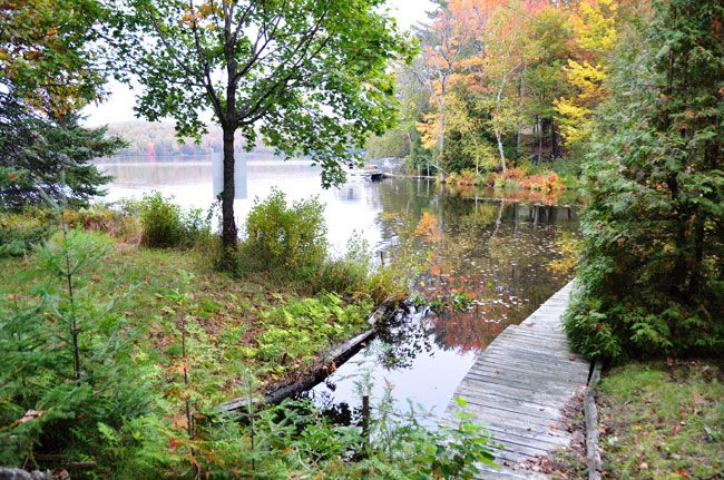 Parry Sound Area. This property is an inexpensive way to get onto Otter Lake where prices are usually much higher. This property has year round road access, a 600 sq ft structure with no value, nice view down the lake, dock, hydro and telephone.  This may be the one you have been waiting for. #390.13A ANOTHER SOLD!