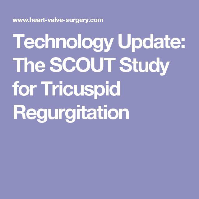 Management of tricuspid valve regurgitation