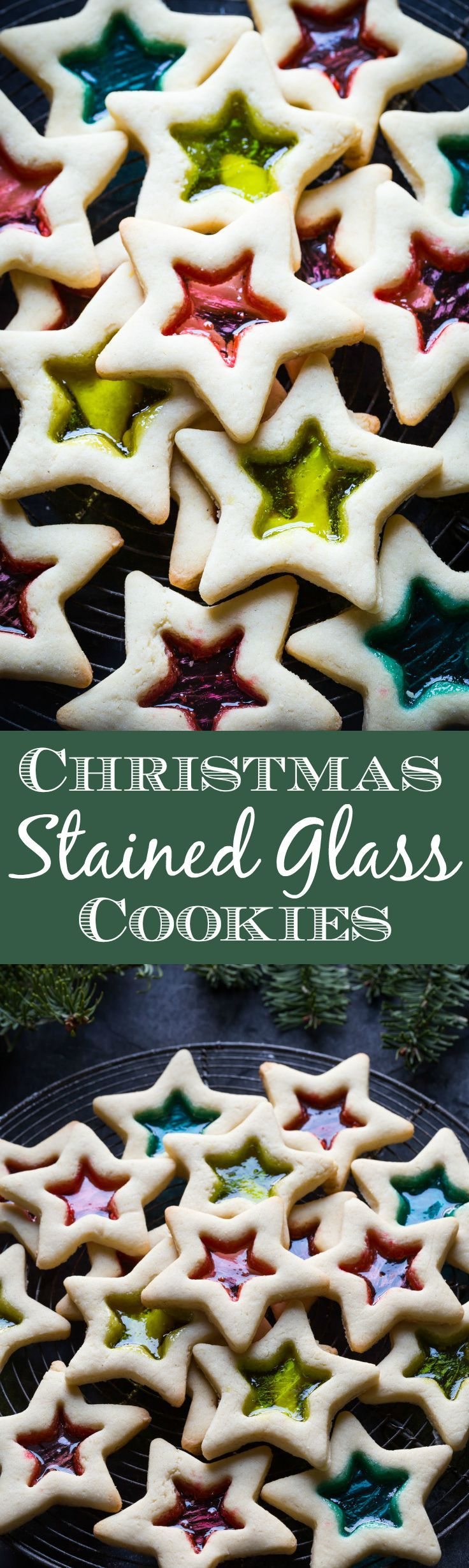 Simply gorgeous Gluten Free Christmas Cookies with Stained Glass. You can can make these with your kids, they are SO easy!