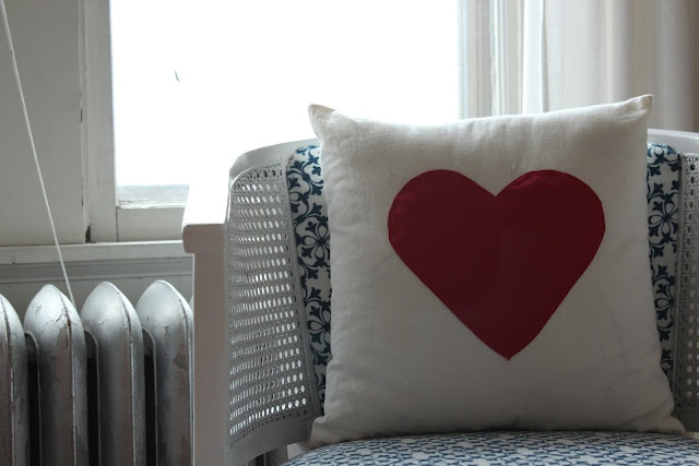 cute Valentine's day pillow