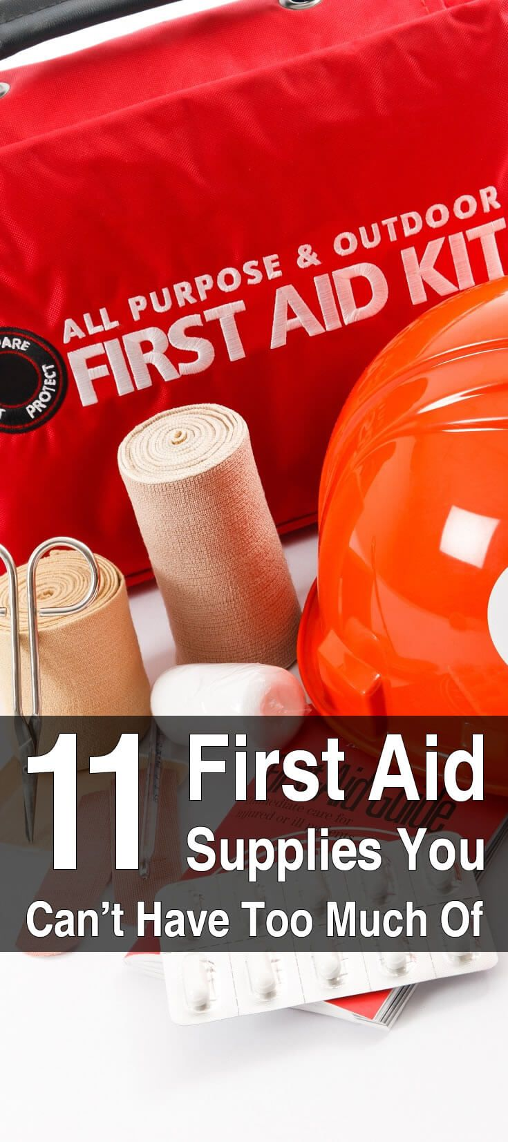 Many first aid supplies such as medication and bandages are not reusable, meaning that you will want to have ample stocks of these crucial items.