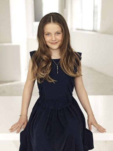 Princess Isabella Henrietta Ingrid Margrethe 10 yrs old (born in 2007). Second child of Crown Prince Frederik and Princess Mary. April 21, 2017